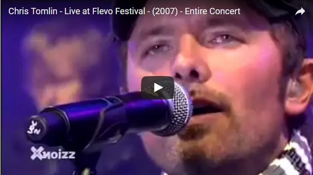 Chris Tomlin - at Flevo Festival 2007